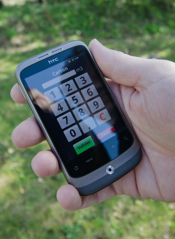 appli smartphone déchèterie