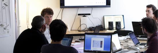 Ypresia et les étudiants de l'Ecole de Design